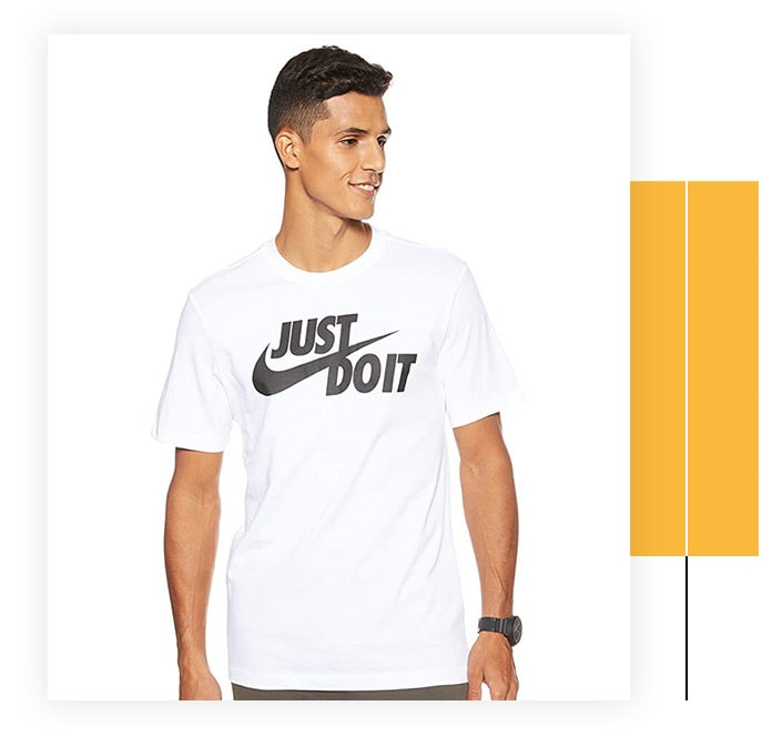 Nike Men's Sportswear Tee Just Do It Swoosh