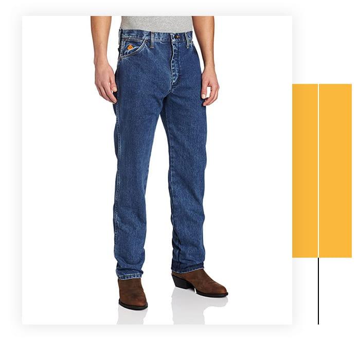 Wrangler Riggs Workwear Men's Flame Resistant Jean