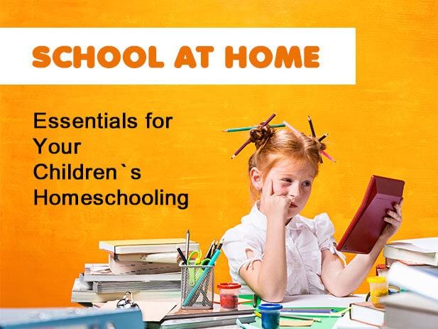 Home School Essentials: A Perfect Collection of Useful & Unique Stuff for Students