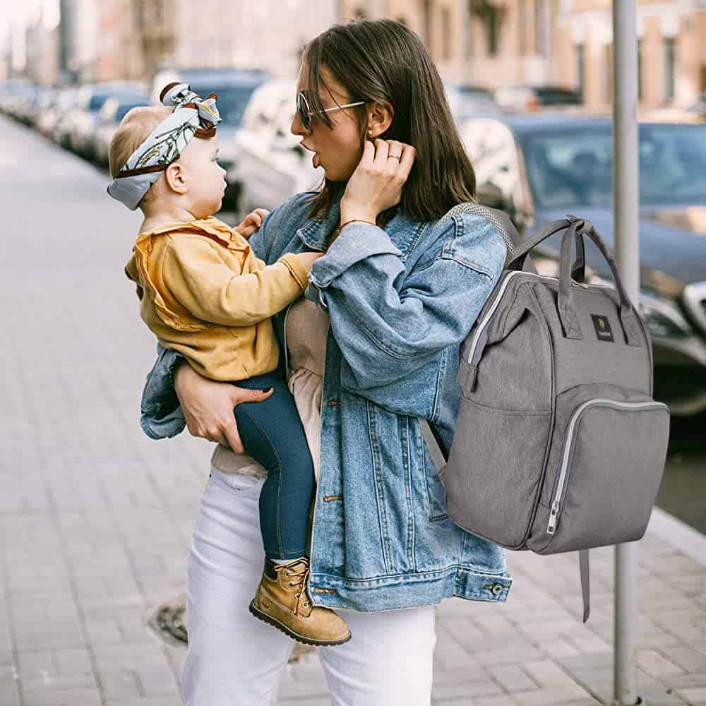 EasySMX Diaper Bag and Travel Backpack