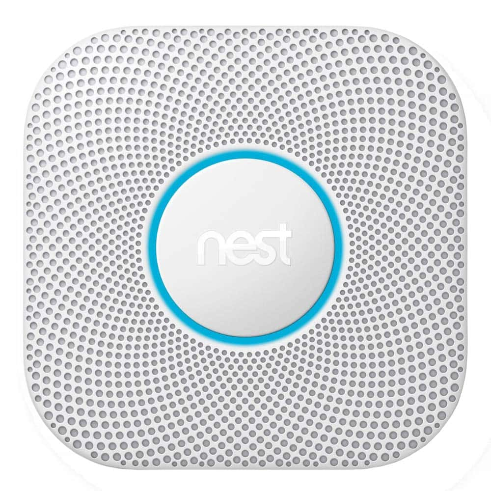 Nest S3000BWES Protect 2nd Generation SmokeCarbon Monoxide Alarm