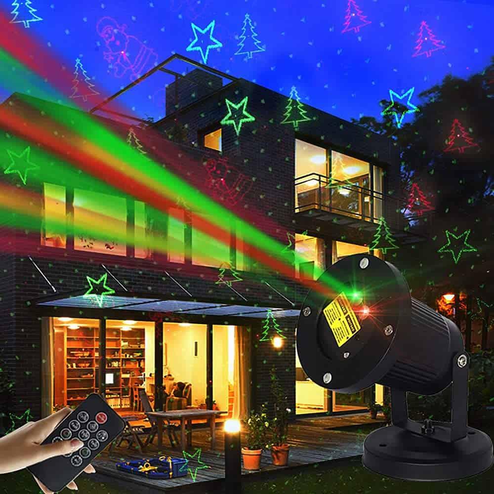Outdoor Christmas Laser Projector Waterproof Lights